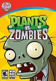 Car�tula oficial de Plants vs. Zombies PC