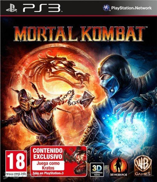 Resultado de imagen de Videojuego Mortal kombat para PlayStation 3