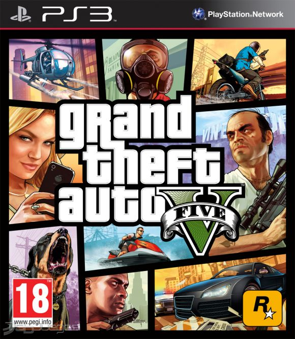 Gta 5 Playstation 3 : Grand theft auto v para ps djuegos