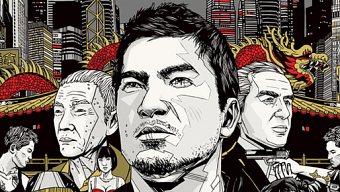 El artista Tyler Stout es el responsable de la portada de Sleeping Dogs