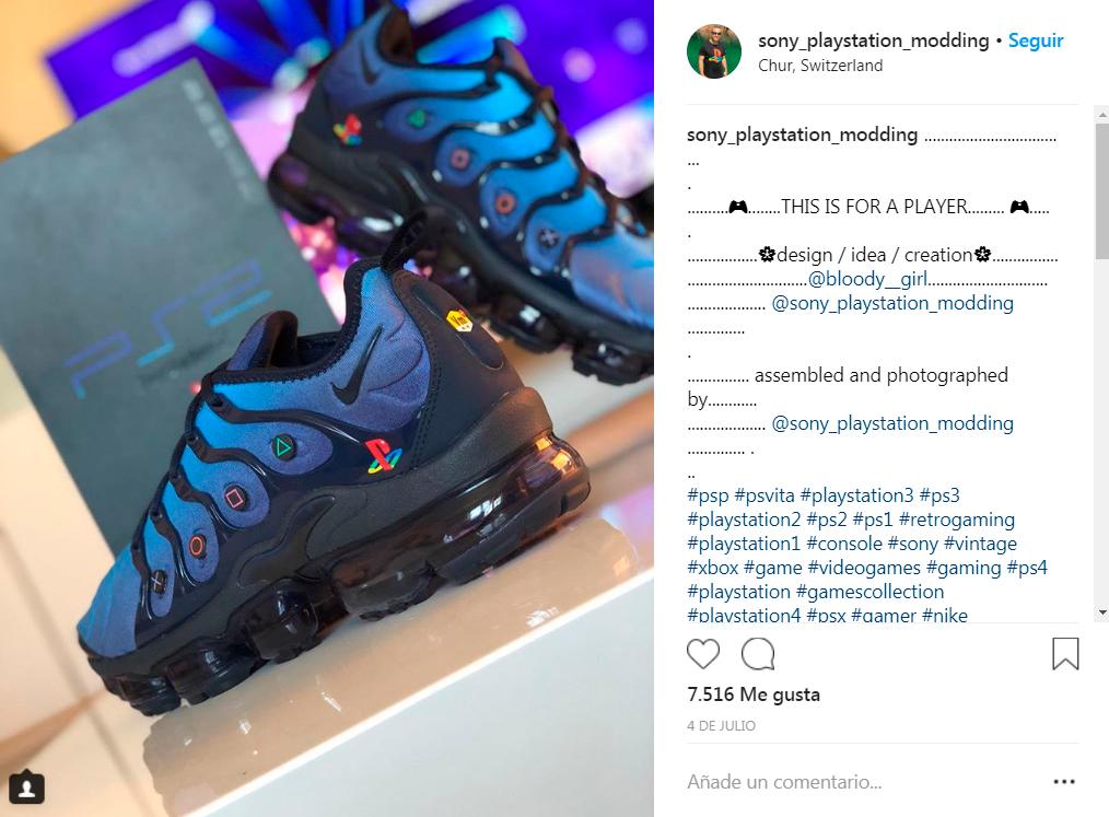 best service 375a3 17d57 PS2 a tus pies con estas zapatillas personalizadas