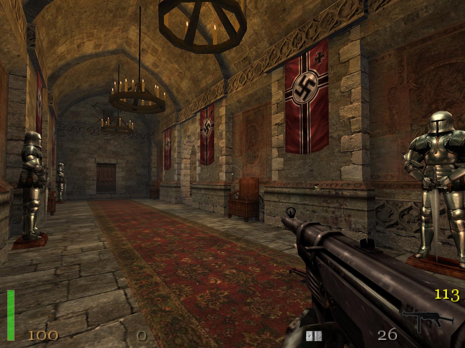 Quake 2, Quake 3: Arena, Wolfenstein 3D y Return to Castle
