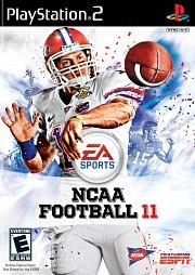 NCAA Football 11 PS2