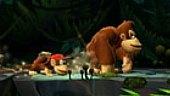 V�deo Donkey Kong Country Returns - Gameplay: Selva Cooperativa