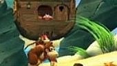 V�deo Donkey Kong Country Returns - Gameplay: Simios en la Playa