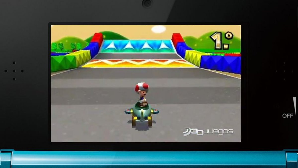 video de mario kart 7 gameplay circuito mario 3ds. Black Bedroom Furniture Sets. Home Design Ideas