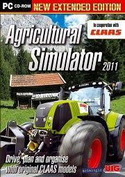 Car�tula oficial de Agricultural Simulator 2011 PC