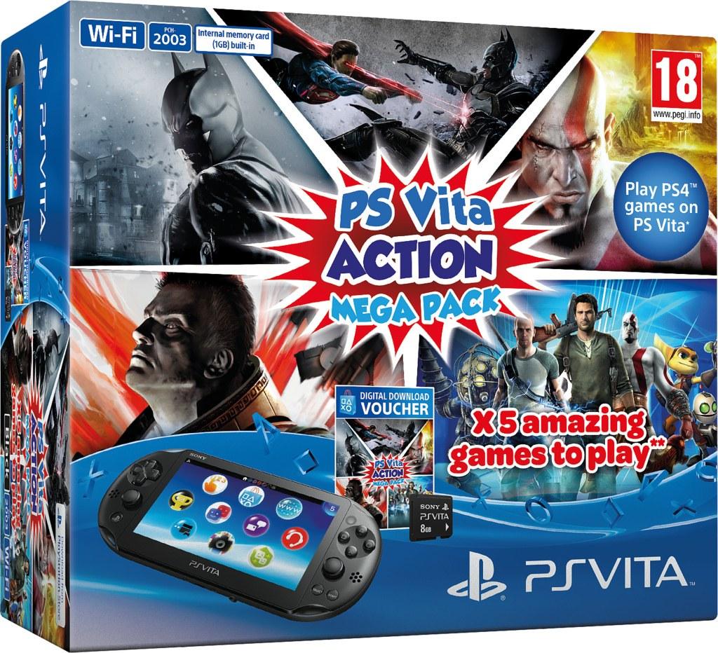 PS Vita estrenará nuevo pack con cinco juegos