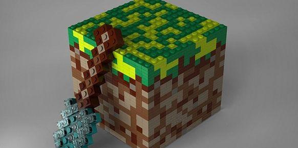 Mojang apuesta por crear una l nea de piezas lego basadas - Piezas lego gigantes ...