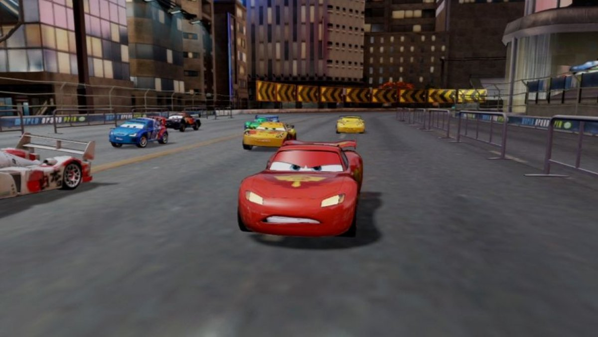 video de cars 2 gameplay vida nocturna ps3 pc x360. Black Bedroom Furniture Sets. Home Design Ideas