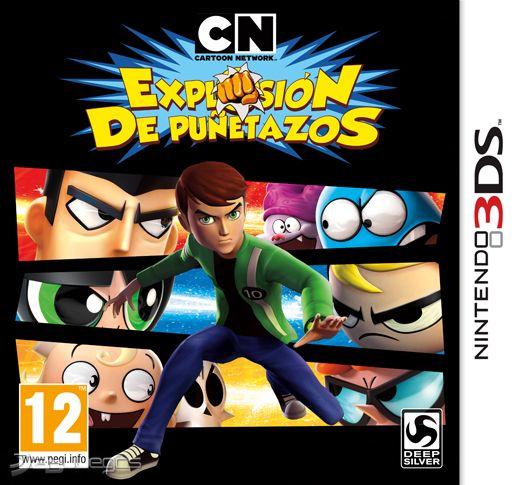 Cartoon Network Explosi 243 N De Pu 241 Etazos Para 3ds 3djuegos