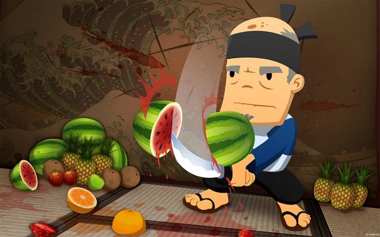 Fruit Ninja prepares his assault on the world of cinema