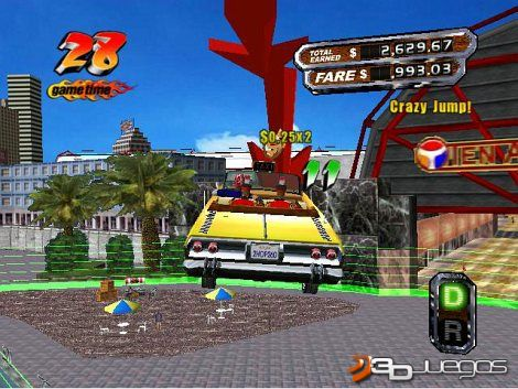 Crazy Taxi 1 & Crazy Taxi 3 [Portable][ING][3links]