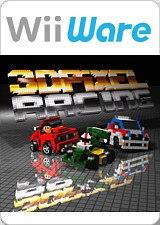 3D Pixel Racing Wii
