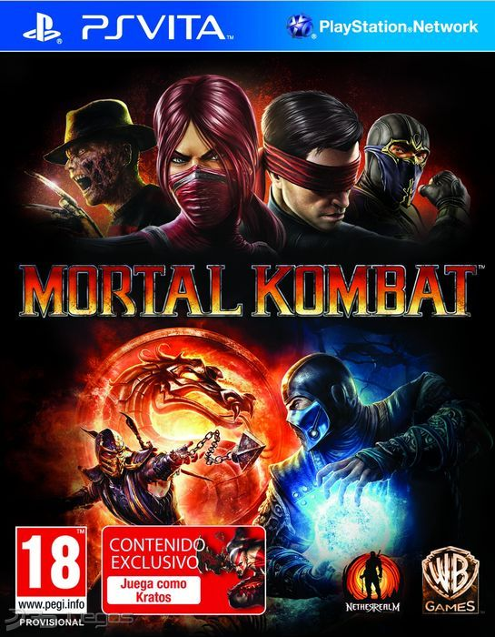 Resultado de imagen de imagenes de  Videojuego Mortal kombat para PS Vita