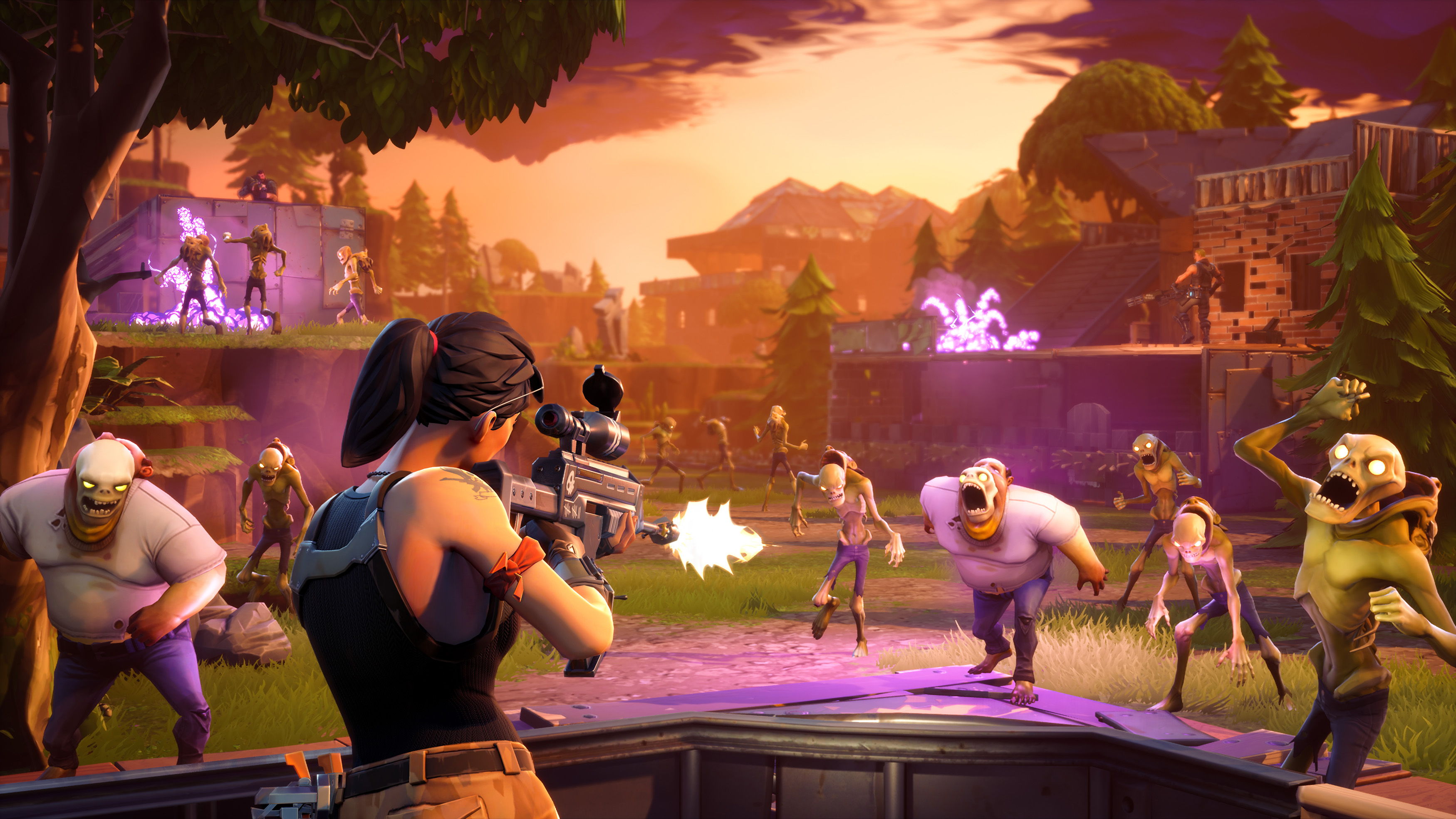 Unreal Engine 4, mejorado para acomodar a Fortnite Battle Royale