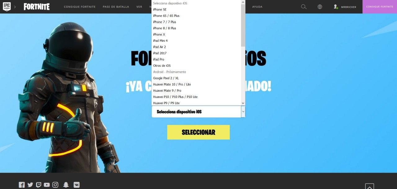 a pesar de que aun no hay fecha de lanzamiento ni fase de pruebas para fortnite en su version para android la web de epic games ha adelantado la lista de - celulares compatibles con fortnite