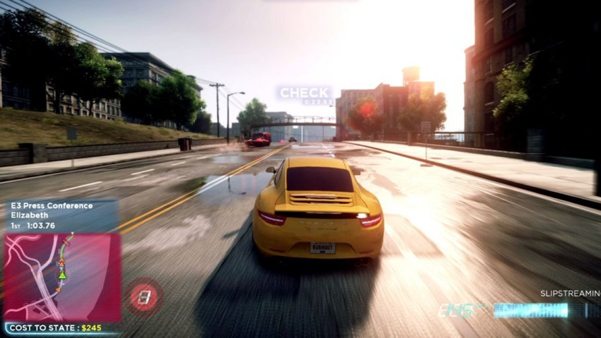 Video de need for speed most wanted gameplay trailer e3 for Juego nfs most wanted