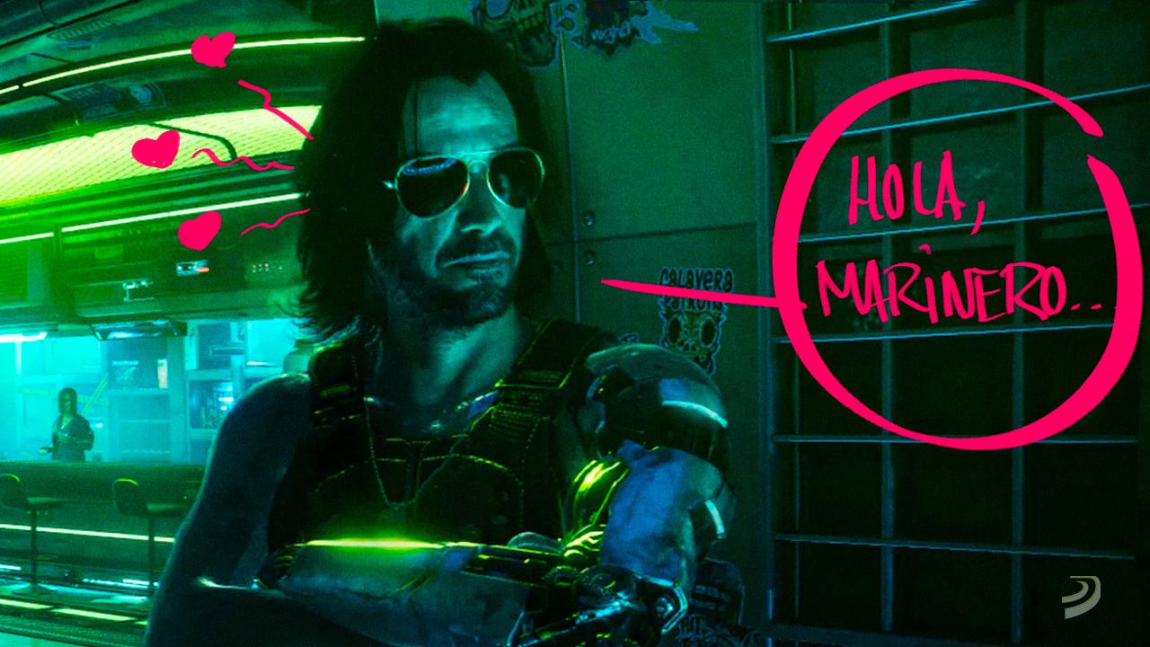 Cyberpunk 2077 recibe ese mod que tarde o temprano iba a llegar: ya podéis acostaros con Keanu Reeves