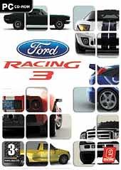 Car�tula oficial de Ford Racing 3 PC