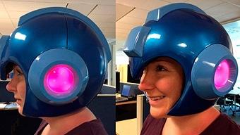 Ponte el casco de Mega Man por 150 dólares