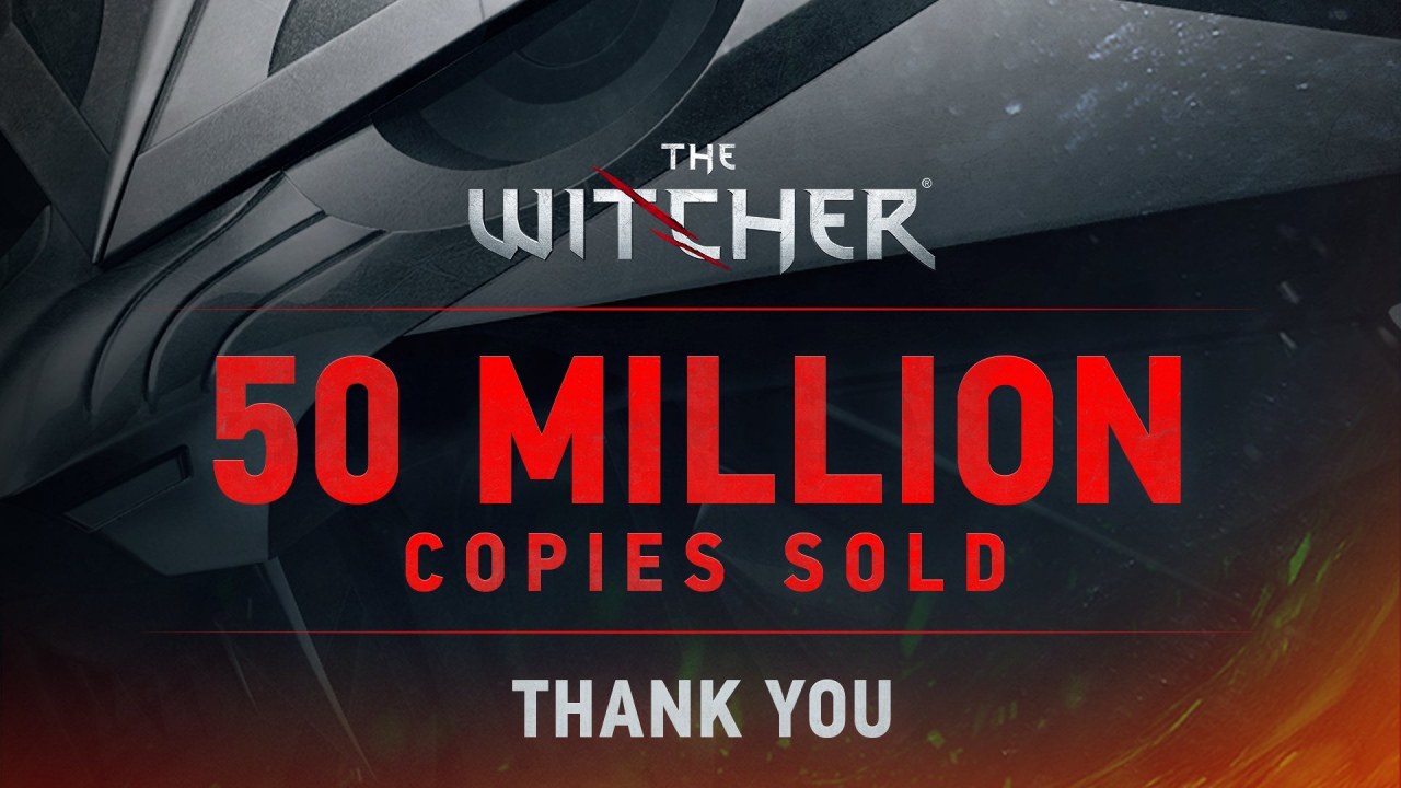 La saga The Witcher acumula 50 millones de copias vendidas y CD Projekt celebra un arranque de año récord