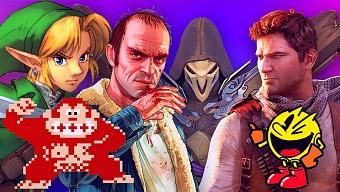 Descubre cuál fue el mejor videojuego del año que naciste
