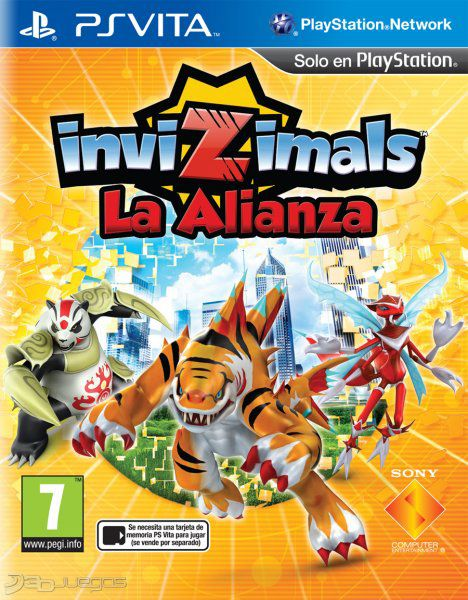 Invizimals La Alianza para Vita  3DJuegos