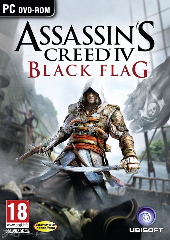 Assassin's Creed IV: Black Flag PS4 PC Xbox360 PS3 Wii Nintendo Mac Linux